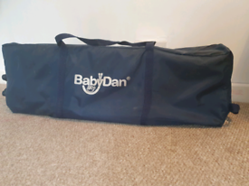 Babydan travel cot, baby cot, playpen