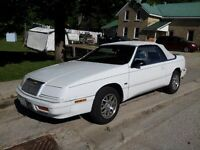1992 Chrysler Lebaron Convertible