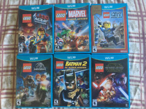Wii U - Lego Games and More
