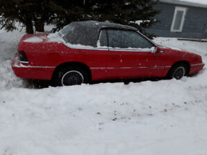 Chrysler Lebaron Convertible PROJECT