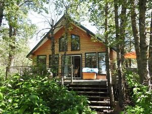 3 Bedroom Lakeview cabin at Golden Sands Turtle Lake-Ref #150088