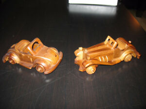 TANNEX / HANDCRAFTED TEAK CARS