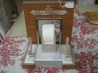 JAEGER-LECOULTRE THREE TIMEPIECE DEALER DISPLAY