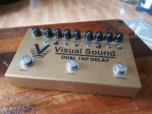 Visual Sound Dual Tap Delay Pedal
