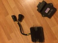 ZX9R REGULATOR RECTIFIER & CDI