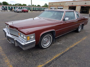 1978 Cadillac Deville 2 Door Coupe Safetied