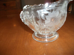 CRYSTAL CREAM PITCHER