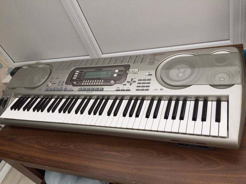 casio wk 3700 keyboard in stanford le hope essex gumtree. Black Bedroom Furniture Sets. Home Design Ideas