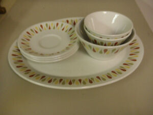 Variety of vintage dishes for sale
