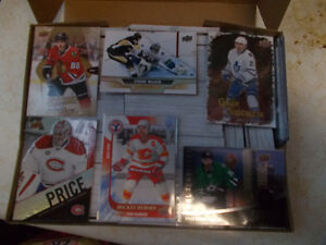 Hockey Card Box, 1 Base Set, At Least 3 Auto & 3 Jersey Cards..