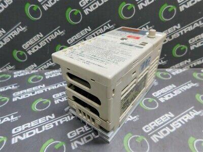 Used Yaskawa Cimr-v7aa20p2 Inverter Outac3ph 0-230v 0-400hz 1.6a 0.6kva