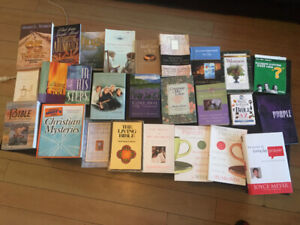 Assorted New Christian Books