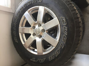 Forsale: 5 Bridgestone Tires with Rims from 2016 Jeep