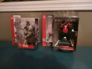 McFarlane NFL Figures Tomlinson,Vick,Variants etc. Lot