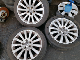 Vauxhall Insignia spare alloy wheel rim with tyre 18 inch