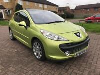 2008 Peugeot 207 1.6HDI 110 GT - 10 SERVICES STAMPS - MOT 06/2018