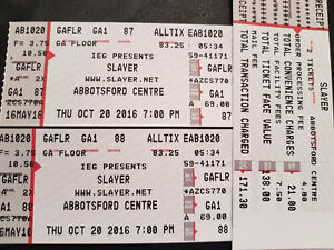 Looking to trade Slayer Tickets