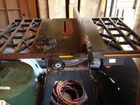 "Table saw Craftsman 10"" 1.5HP"