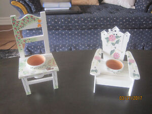 Cute Muskoka Chair Flower Pots