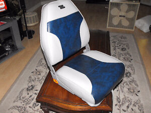 New boat seat with swivel base