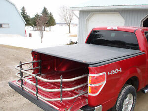 tonneau cover and truck bed extender