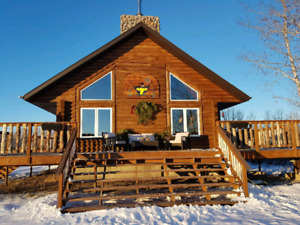 Log home available for rent (price per night)