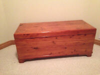 MOVING SALE - SOLID WOOD CEDAR HOPE CHEST