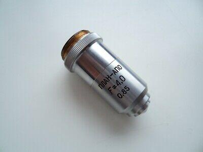 Lens Plan-apo F40 085 Planapochromat Lomo For Microscope