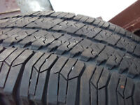 4   truck  tires  p255/ 75r17  a/s  GOODYEAR  WRANGLERS HT