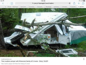 CASH PAID FOR REBUILDABLE  CAMPER /TRAVEL/UTILITY TRAILERS