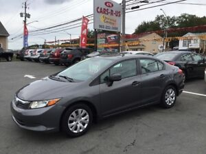 2012 Honda Civic DX 4dr Sedan 5M