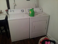 fridge,oven,washer and dryer