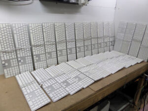 Lot Of x 10 =Apple Wired USB Keyboards_Aluminum _Numeric Keypads