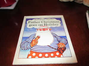 Father Christmas Goes on Holiday - Raymond Briggs 1st edition