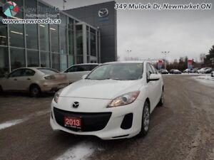 2013 Mazda Mazda3 GX -  Power Seats - $83.17 B/W