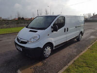 NO VAT 2008 08 VAUXHALL VIVARO 2.0 CDTI LWB 2900, 2 FORMER KEEPERS, PX WELCOME