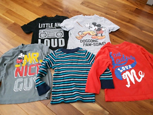 4T Boys shirts - $8 for all 5