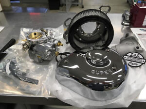 CARBURATEUR COMPLET S&S POUR HARLEY TWIN CAM 1999-2006