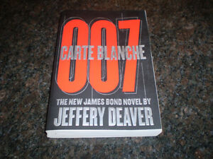 JEFFERY DEAVER 007 NOVEL Windsor Region Ontario image 1