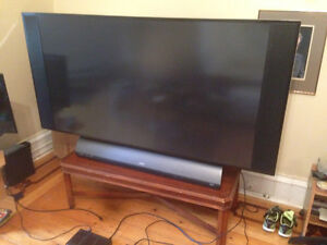 RCA 50 inch TV, HDMI, will throw in table