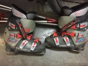 K2 Skies, boots, and poles