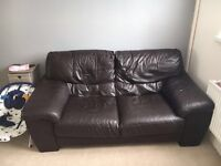 FREE FREE NEED GONE TODAY DFS Leather two seater sofa