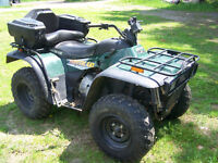 2002 Arctic Cat  400cc  4x4 - Manual Shift - Super Clean!!