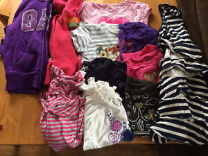 Lot of girls clothes sizes 4-5 (x-small)