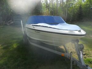 17.5 ft Openbow Stern Drive, 4cyl 135HP. Very Good Condition