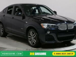 2015 BMW X4 XDRIVE CUIR TOIT NAV MAGS BLUETOOTH CAMERA RECUL