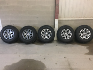 Jeep Wrangler Rubicon Wheels and Tires New