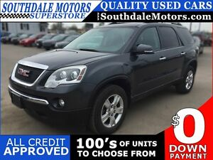 2011 GMC ACADIA SLE * 7 PASSENGER * REAR CAMERA * SUNROOF * BLUE