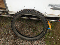 30/100-21 Motorcross Tire with Ice Studs