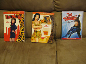 THE NANNY DVD COMPLETE SEASONS 1 ,2 AND 4
